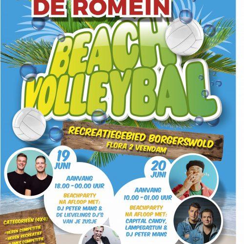 De Romein Beachvolleybal 19 & 20 juni 2020
